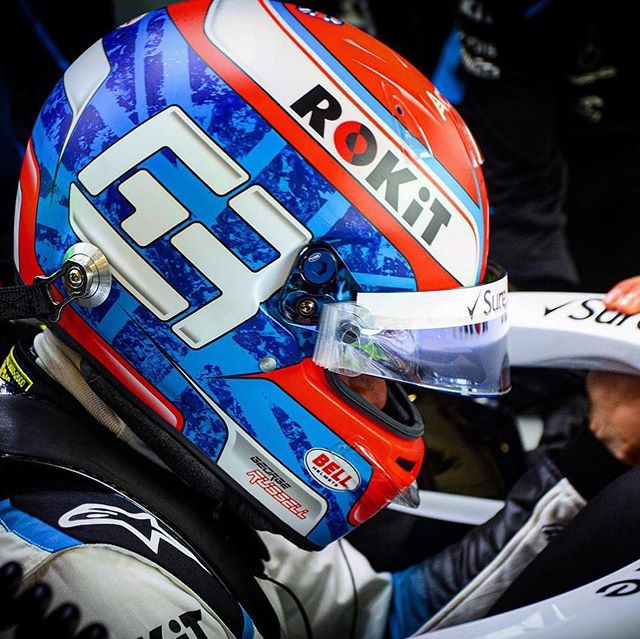 What a day of sport, and what a Grand Prix! @georgerussell63 had a special helmet for the weekend and also had his best result in @f1 so far. Congratulations and glad to see you proudly displaying the logo still 😊  #GR63 #georgerussell #f1 #formula1 #formulaone #britishgrandprix #silverstone #british #motorsport #racing #car #williamsracing #logo #logodesign #helmet #graphicdesign