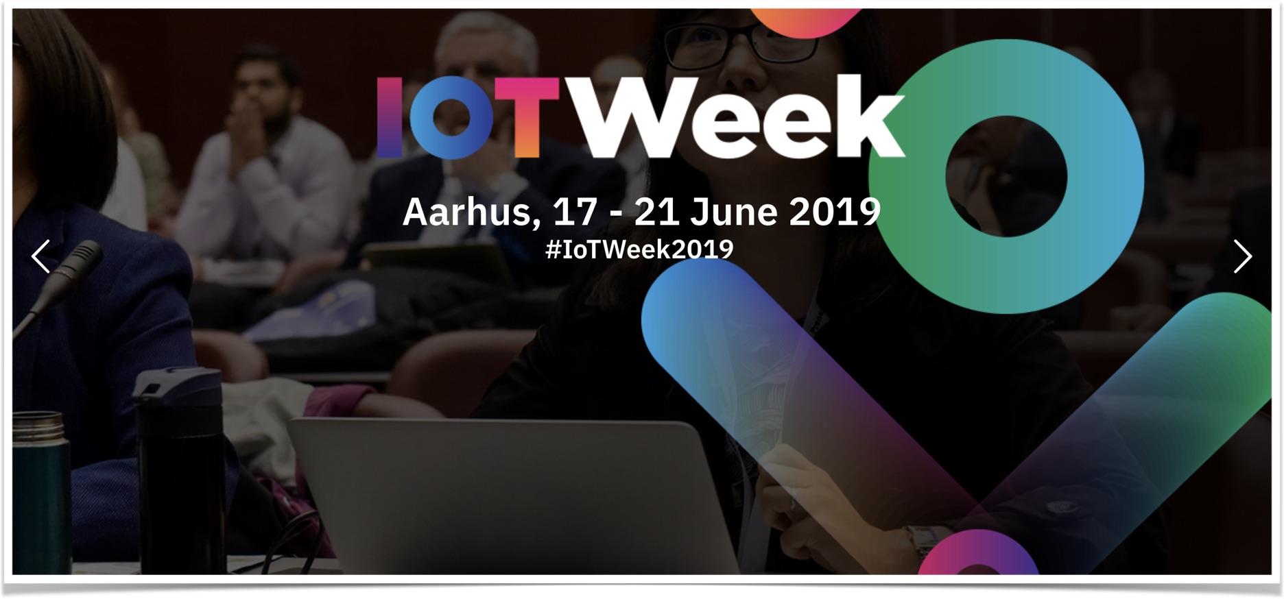IoT Week keynote