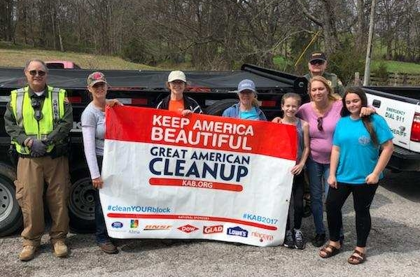 Participants learn to appreciate our community by volunteering to help in a cleanup! Thanks for the help