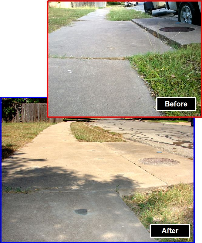 Before and After - Pigeon Forge Sidewalks.jpg