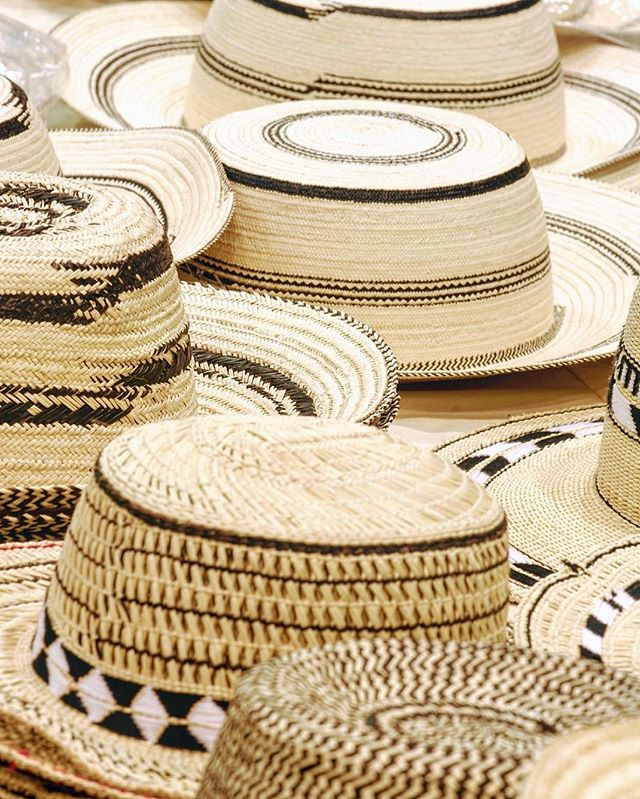 """Traditional hand made hat worn by men in Panama, it is an essential part of the men's national outfit, it is known as """"Sombrero pintado"""""""