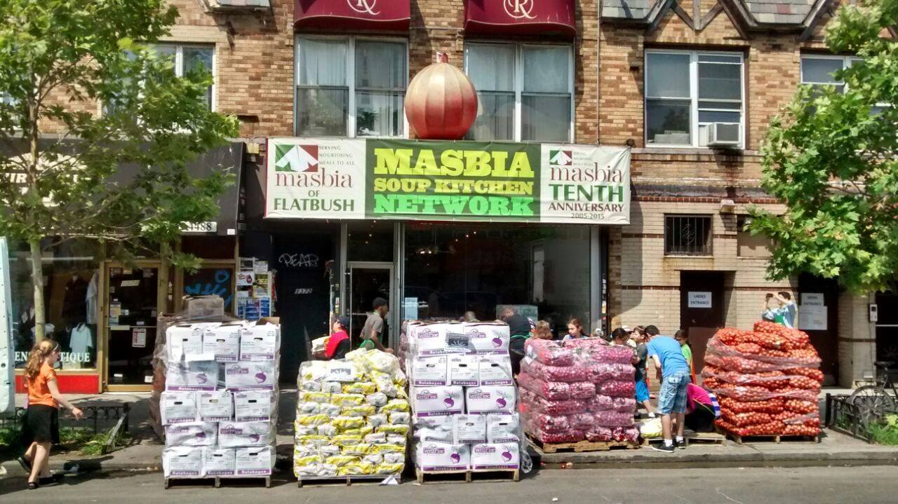 Masbia Soup Kitchen - Every Sunday in Queens and Flatbush Gardens, Masbia serves hundreds of meals to those in need.Children 12+ may participate with a parent by preparing and serving meals. Please follow the link below to become a volunteer.https://www.masbia.org/volunteer_signup For further information email: volunteer@masbia.org.