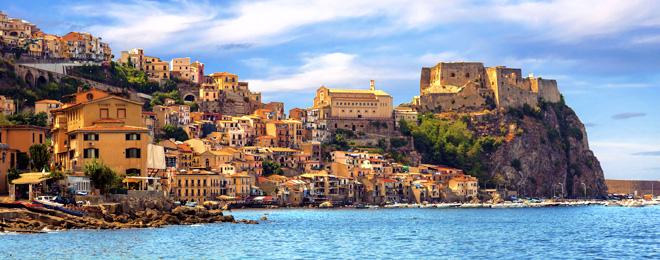 The Amalfi Coast- Calabria