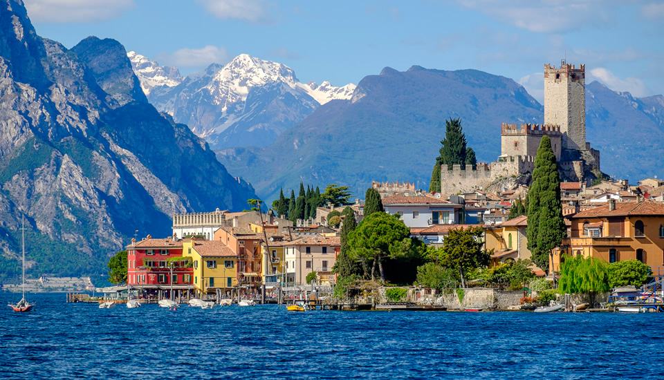 Sirmione on the south shore of Lake Garda