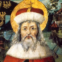 Saint Leopold, Margrave of Austria, Patron Saint of the Nation, and founder of the Klosterneuberg