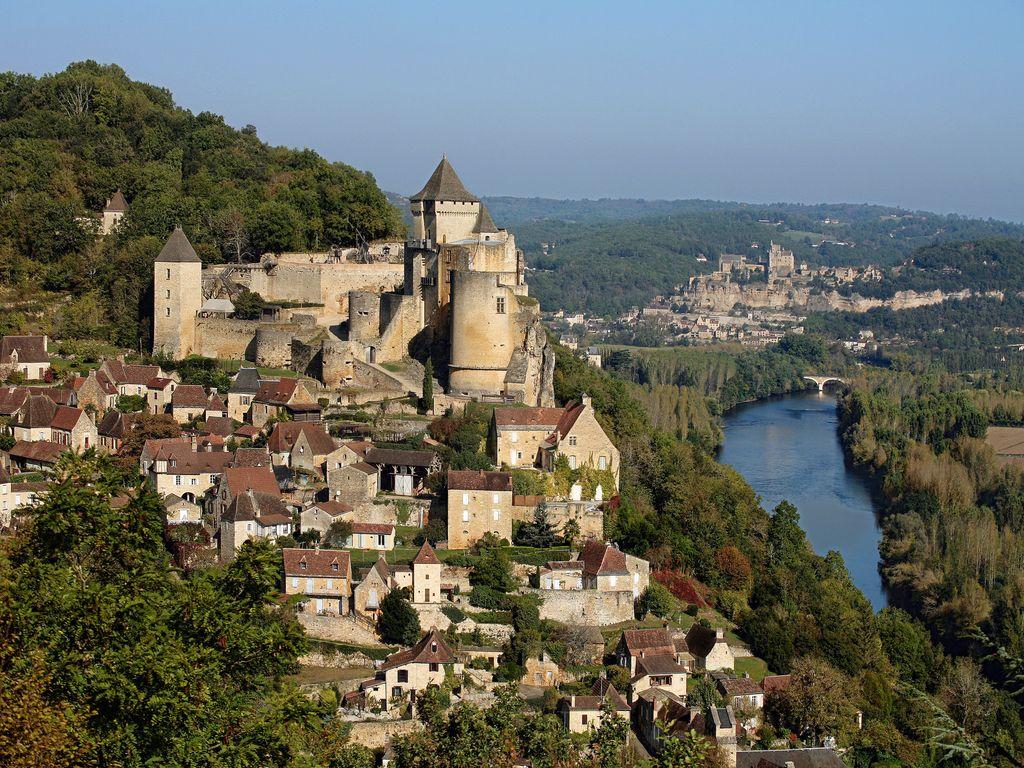 Cheateau de Castelnaud in the Bergerac region