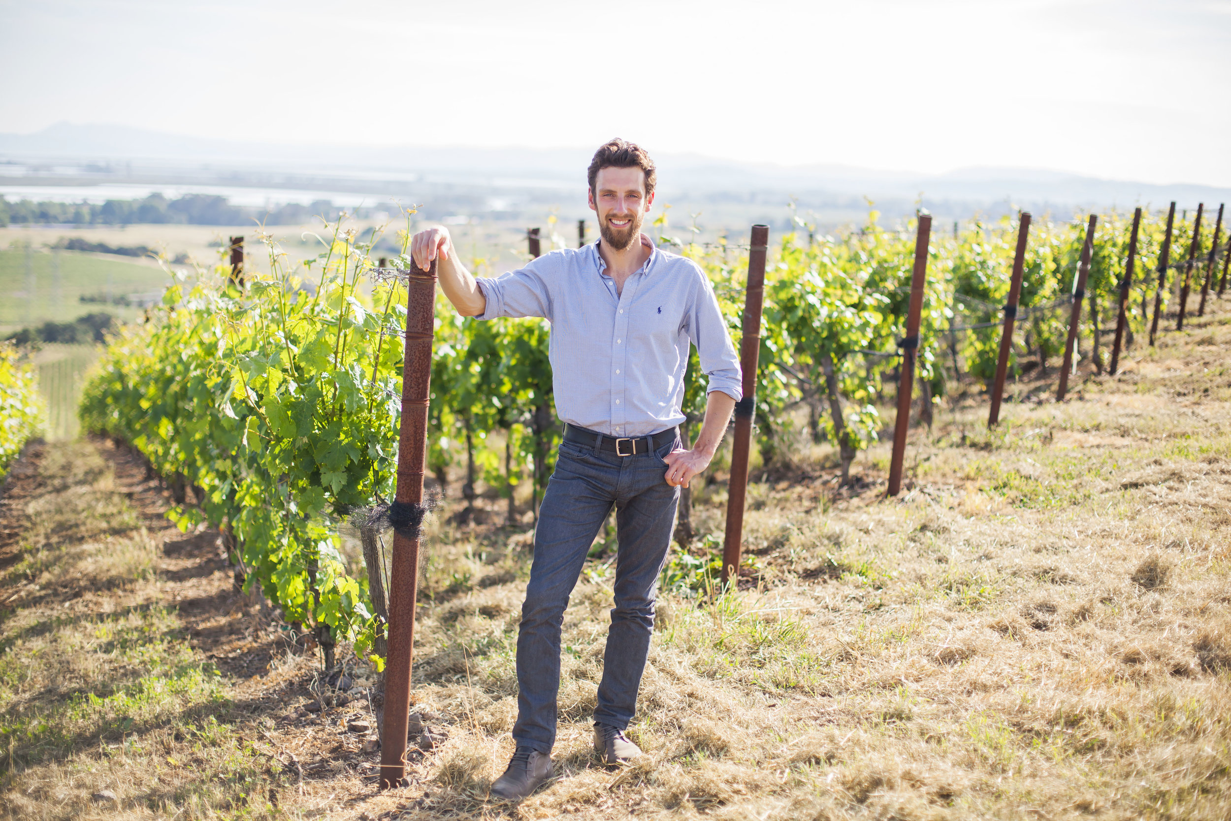 Alex Remy, winemaker