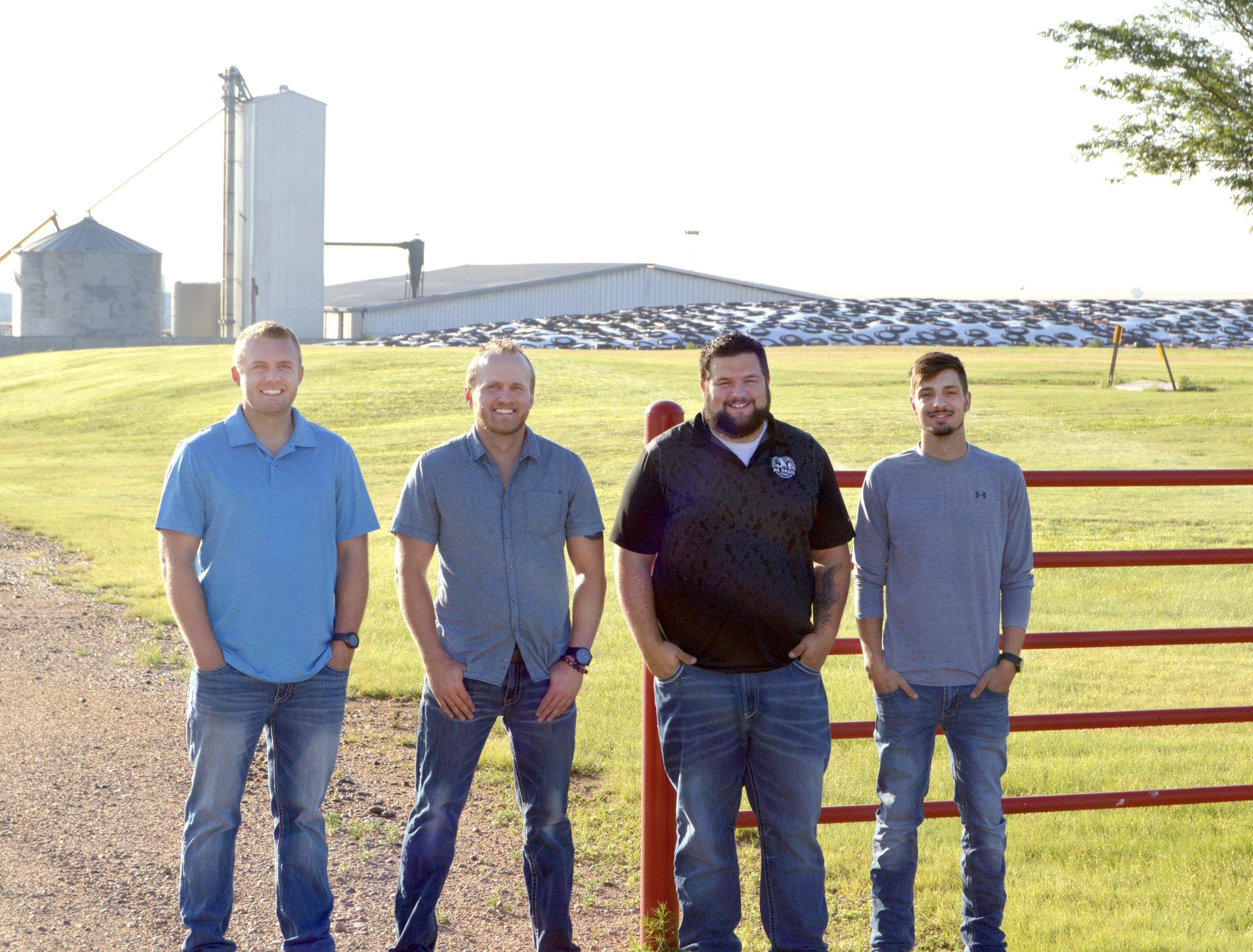 Parker Tuls, Pete Tuls Jr., Jeffery Hemann, Brad Hemann