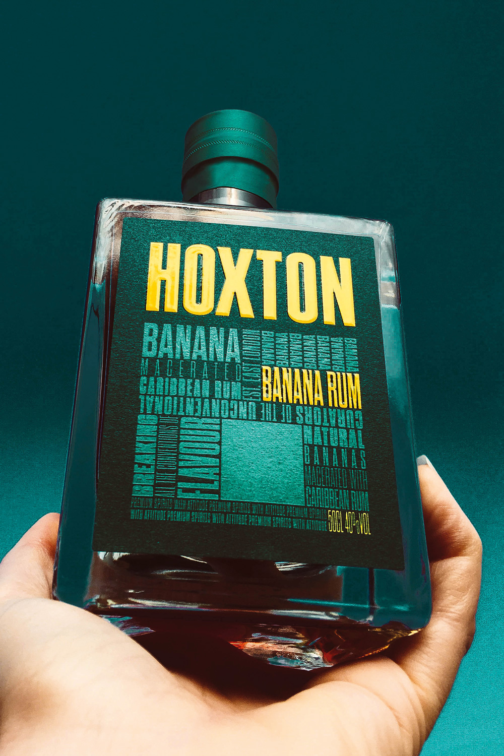 Inspired by island living, meet the brand new Hoxton Banana Rum. - Made using fresh and dried bananas macerated with a blend of the finest, hand selected rums for up to 5 weeks.
