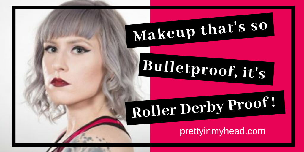 """Atlanta Rollergirl, Sara Bellum's Flawless, Roller Derby ProofFoundation Routine … - As a certifiable makeup obsessive, I look for kindred spirits where ever I can find them (#notallheroswearcapes). I would like to introduce you to Atlanta Rollergirl, Sara Bellum. Her flawless full coverage foundation never budged no matter how many laps she skated. It looked perfect through the entire match, or """"Bout"""" as it is referred. Sara set down with me to share her secrets to a flawless foundation routine that will keep you fresh faced no matter what obstacle is in front of you. Keep reading to find out how."""