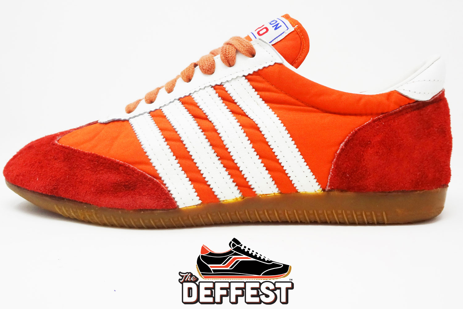 54673190b Old school Action Pro 1970s 1980s vintage sneakers profile view @ The  Deffest