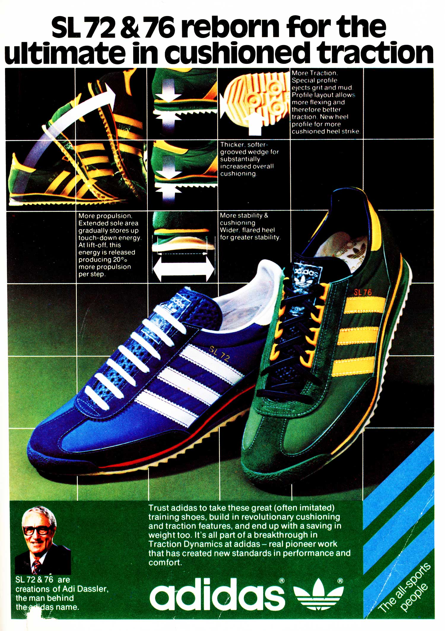 super populaire 42578 c5923 The Deffest. A vintage sneaker blog. — Adidas SL72 and SL76 ...