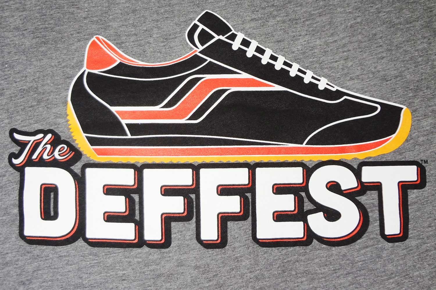 29e0d2af7ce3 The Deffest retro sneaker blog logo t-shirt at Big Cartel