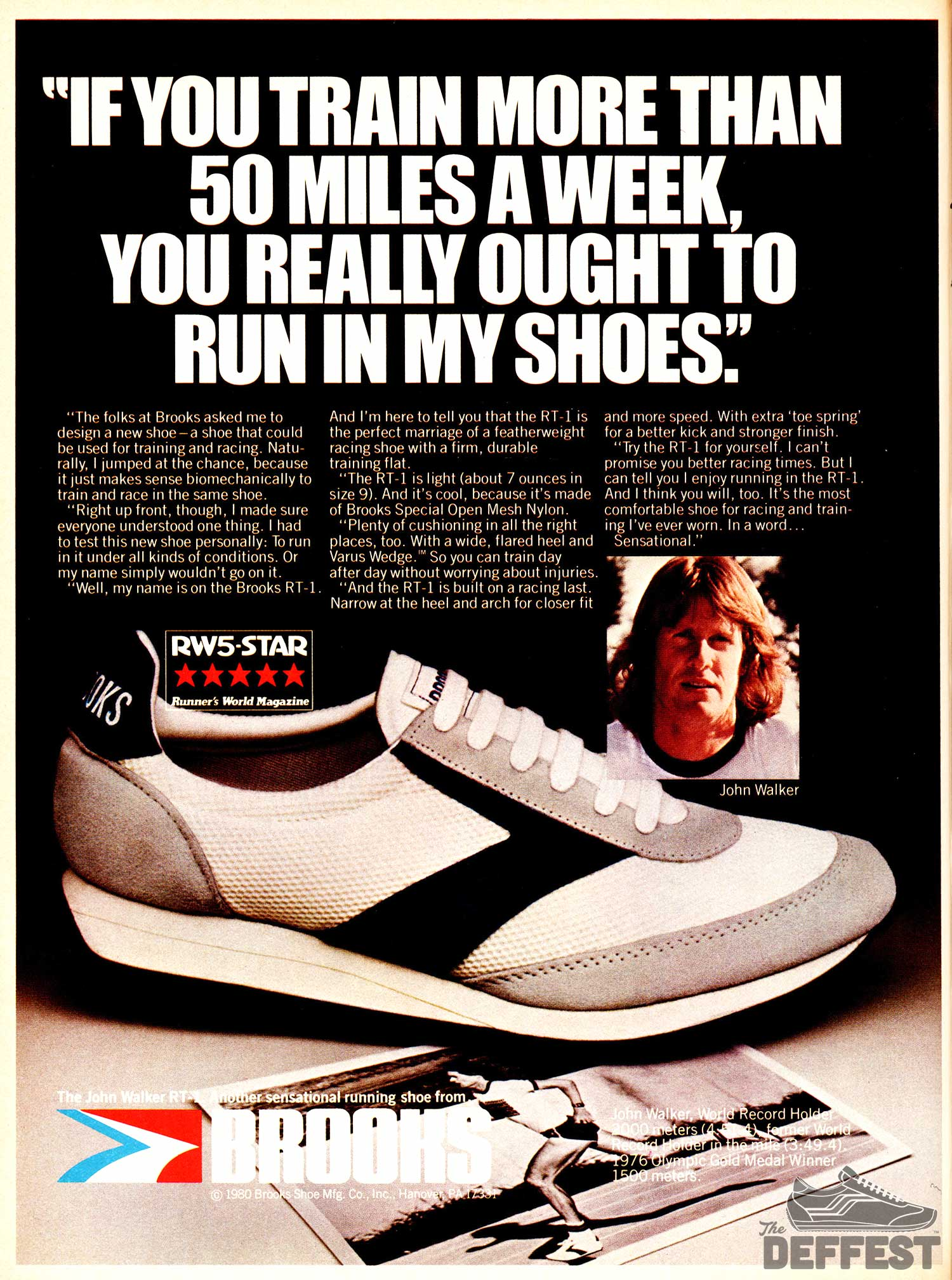 Brooks Rt 1 The Deffest A Vintage And Retro Sneaker Blog Vintage Ads