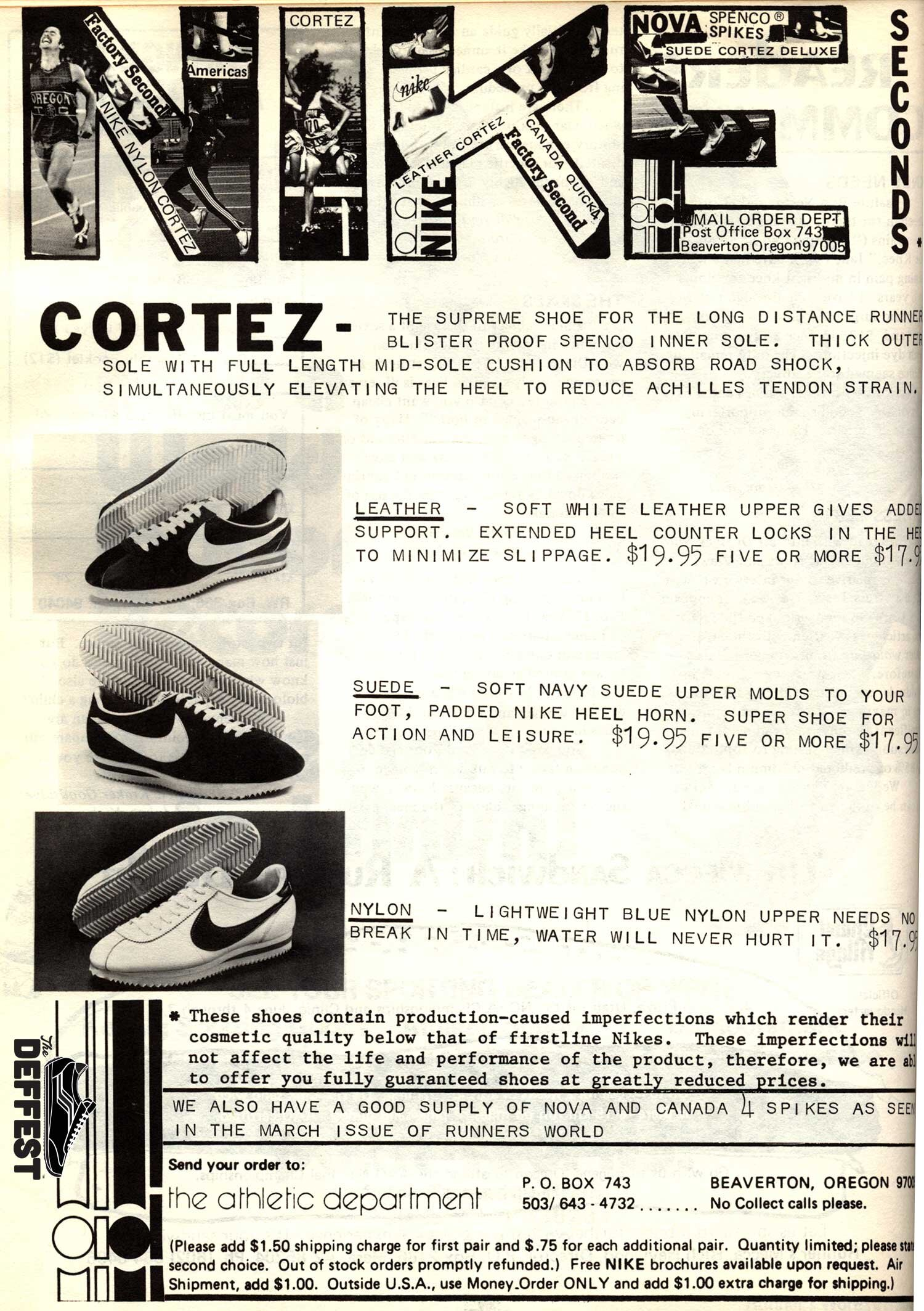 Vintage Nike The Deffest A Vintage And Retro Sneaker Blog Vintage Ads