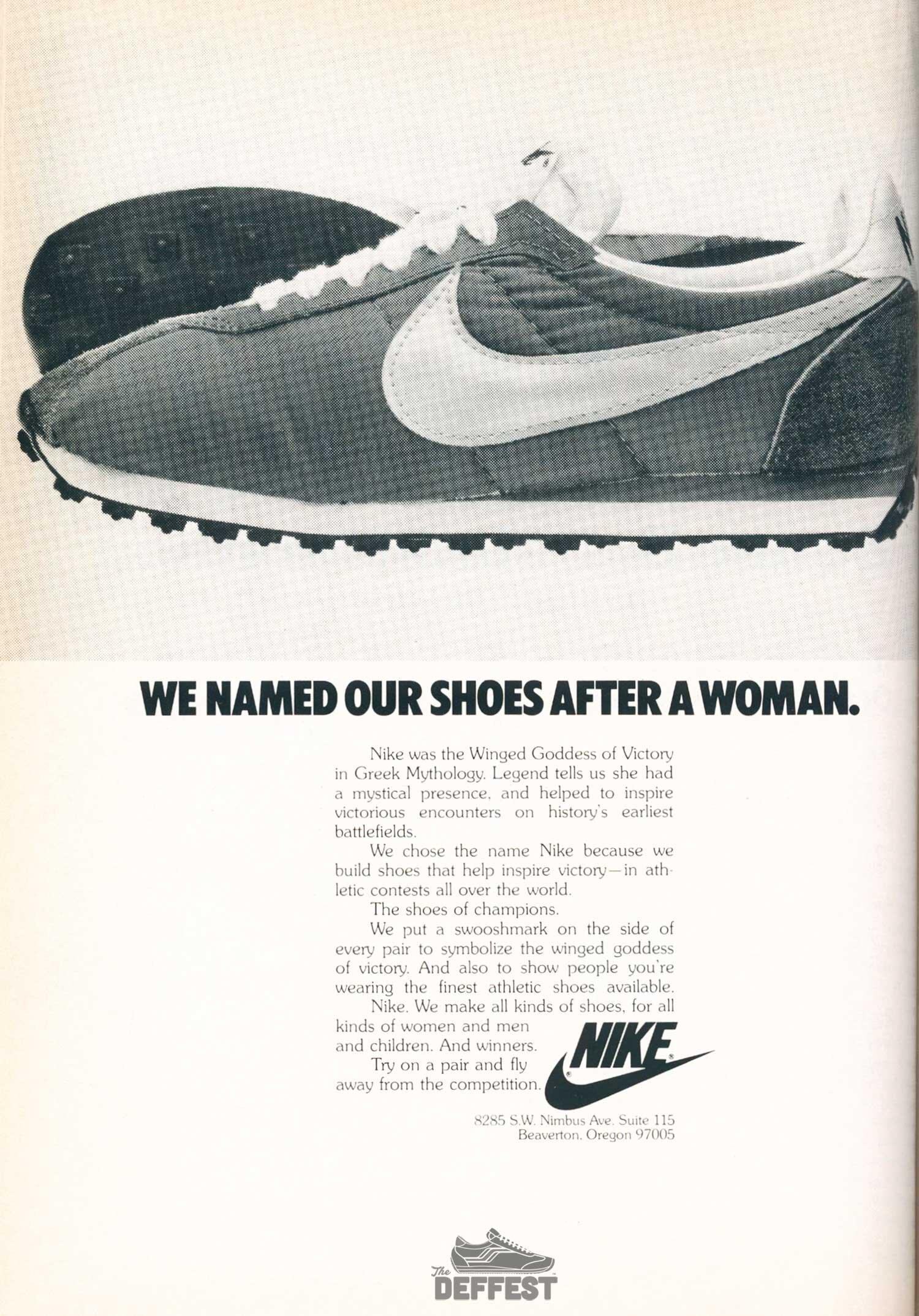 Vintage Nike The Deffest A Vintage And Retro Sneaker Blog Vintage Ads