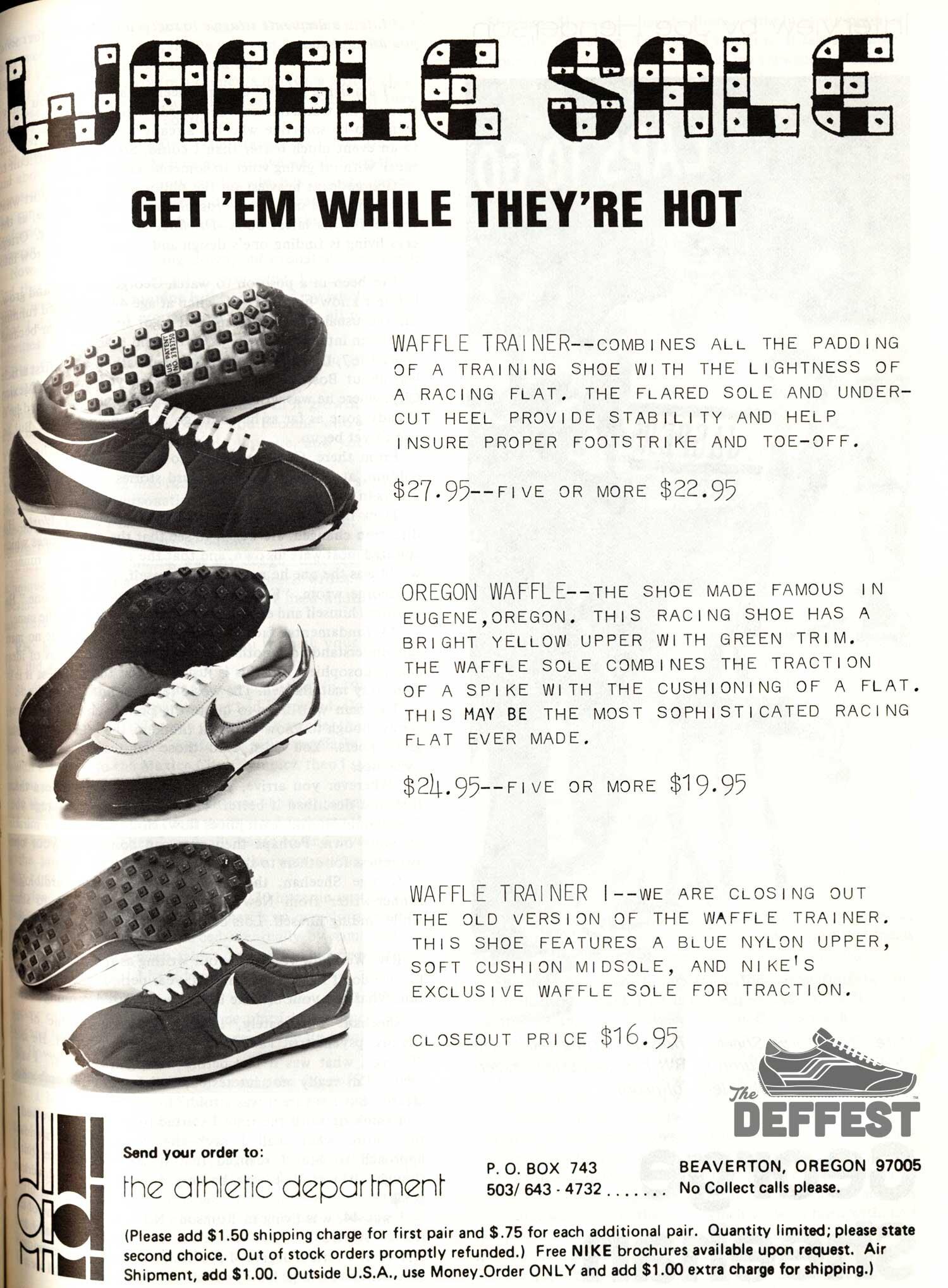 Vintage Nike Ad The Deffest A Vintage And Retro Sneaker Blog Vintage Ads
