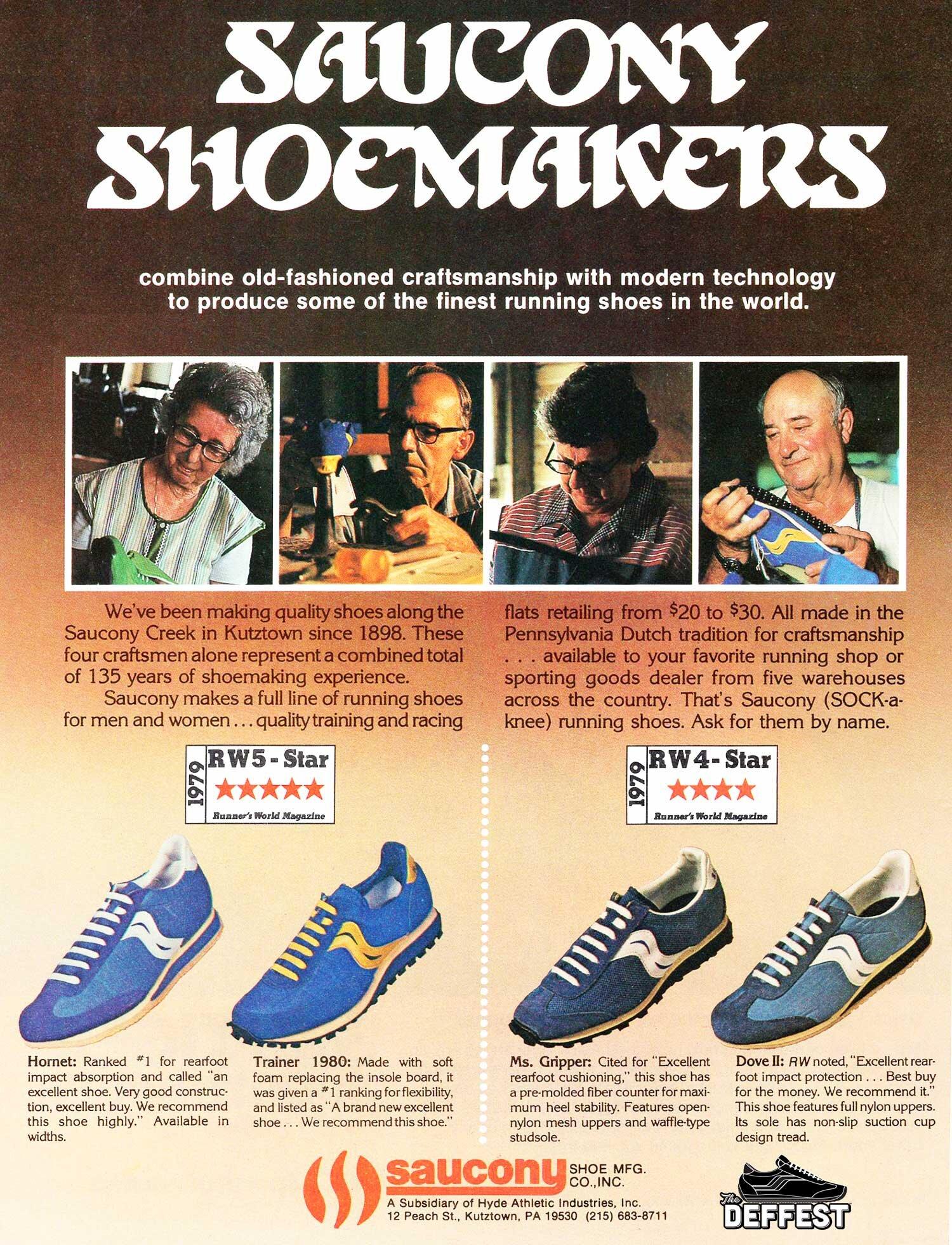 The Deffest A Vintage And Retro Sneaker Blog Saucony 80s Vintage Sneaker Advertisement