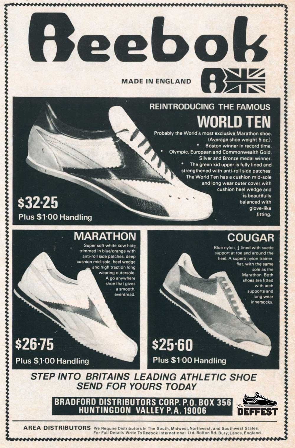 70s Running Shoes The Deffest A Vintage And Retro Sneaker Blog Vintage Ads