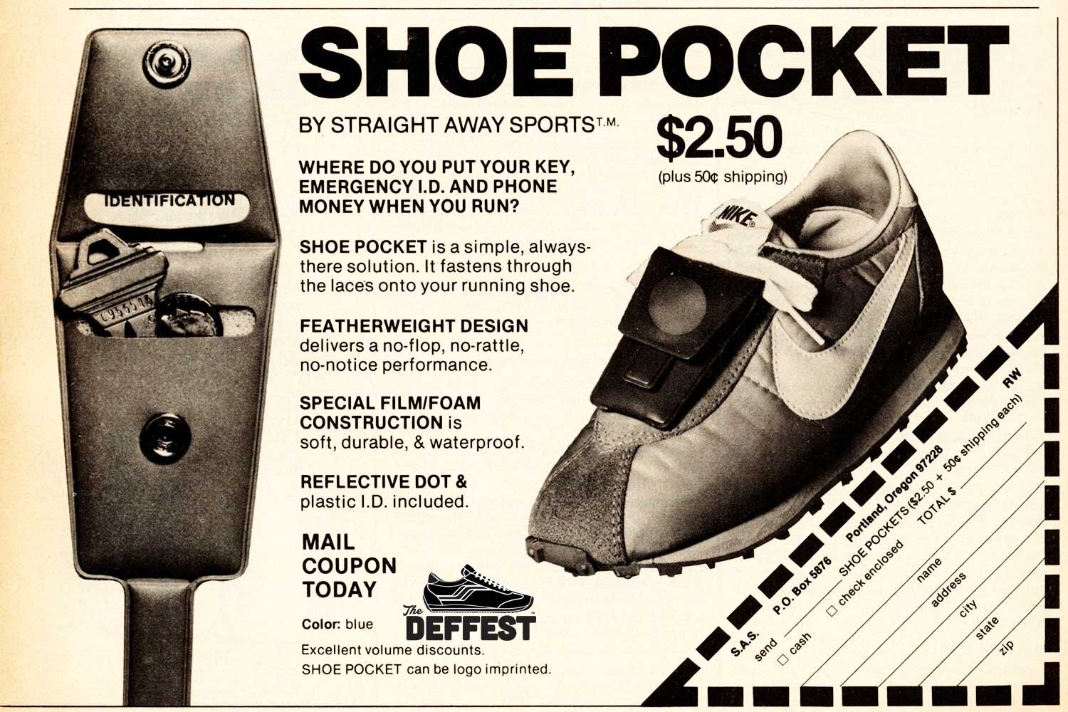 The Deffest A Vintage And Retro Sneaker Blog Vintage Shoe Pocket Nike Waffle Ad From 1979