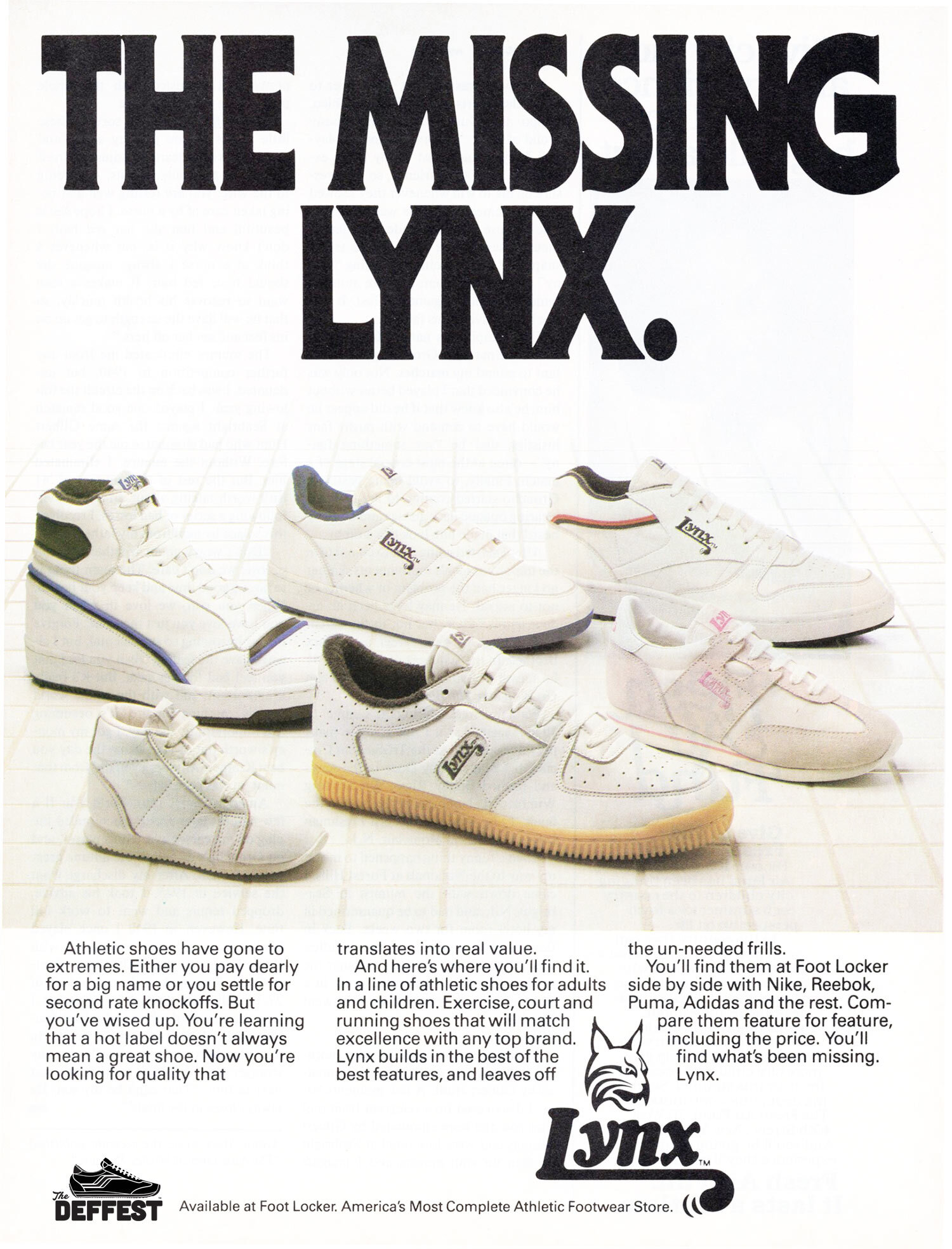 80s Running Shoes The Deffest A Vintage And Retro Sneaker Blog Vintage Ads