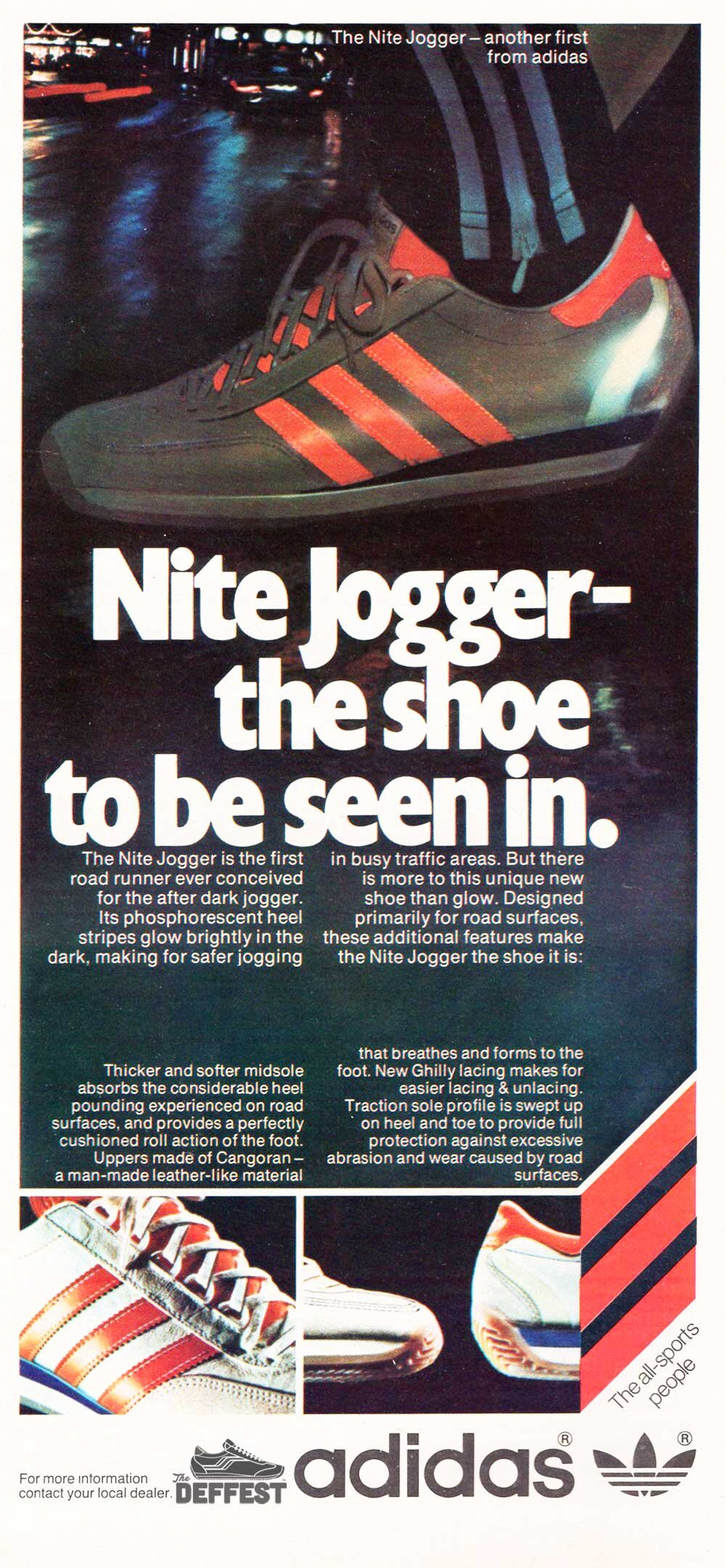 Adidas Running Shoes The Deffest A Vintage And Retro Sneaker Blog Vintage Ads