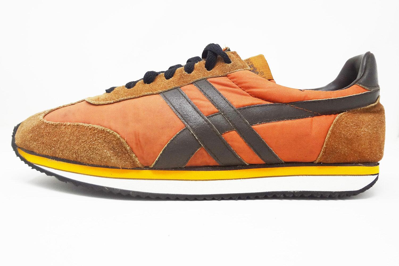 Thom McAn 70s orange \u0026 brown retro runners