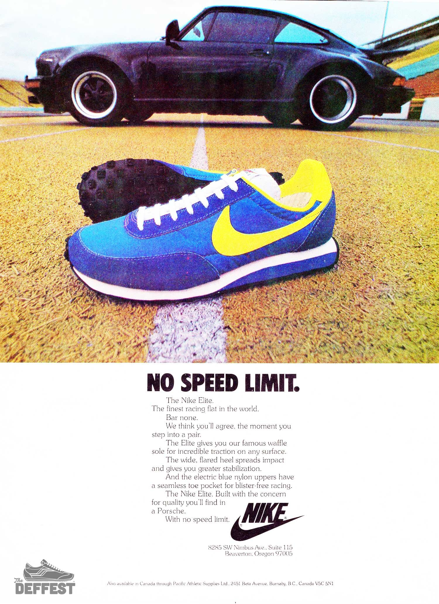 Iconic Sneakers The Deffest A Vintage And Retro Sneaker Blog Vintage Ads
