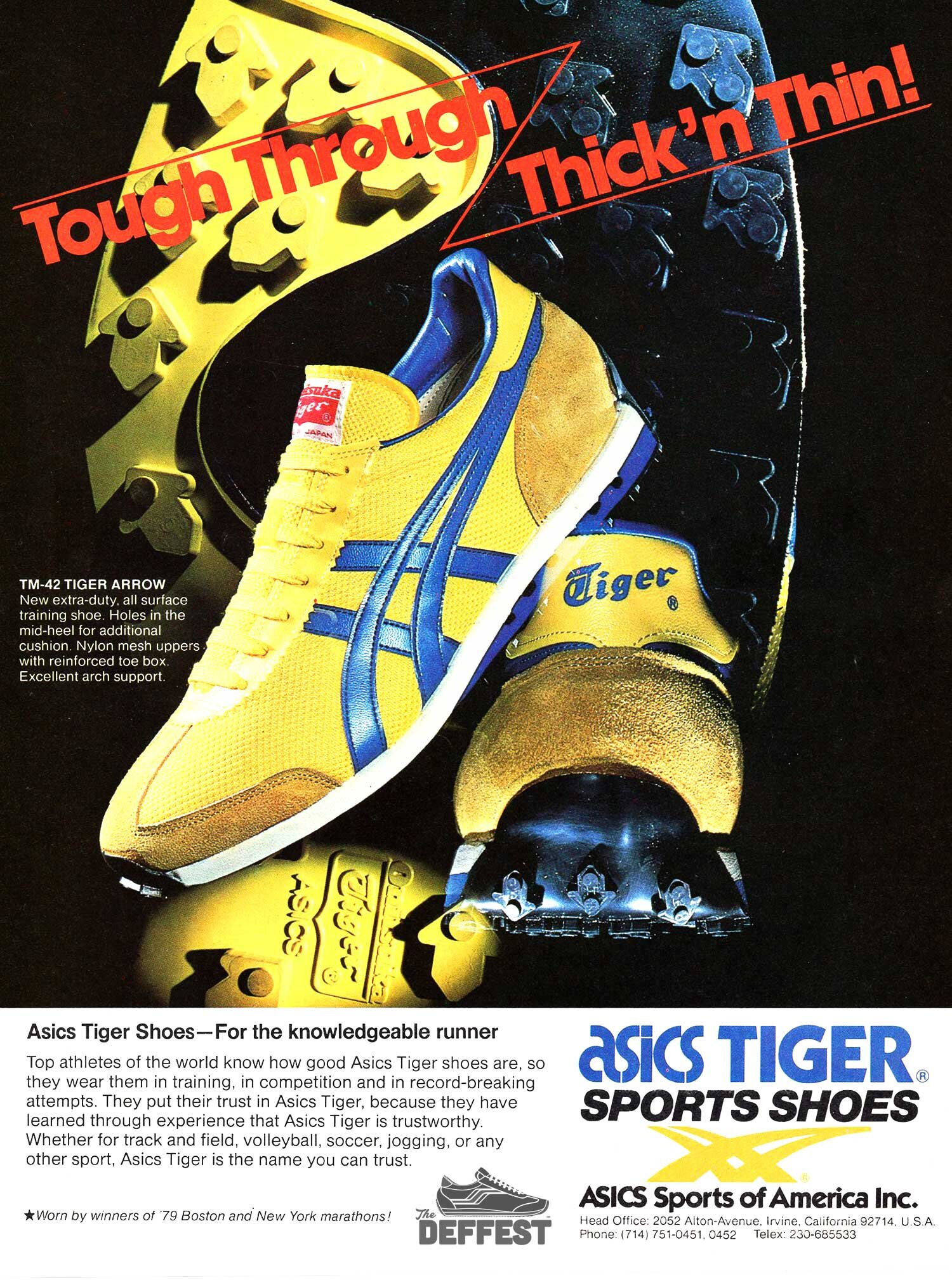 old school asics tiger