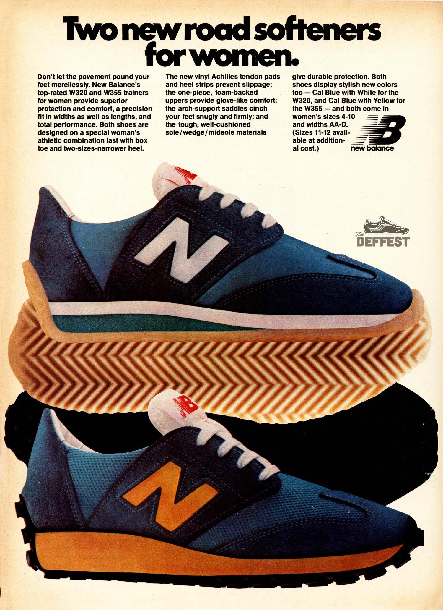 new balance shoes vintage