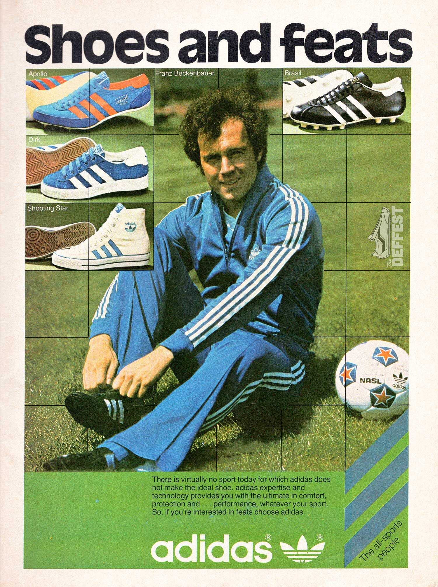 Adidas Shooting Star The Deffest A Vintage And Retro Sneaker Blog Vintage Ads
