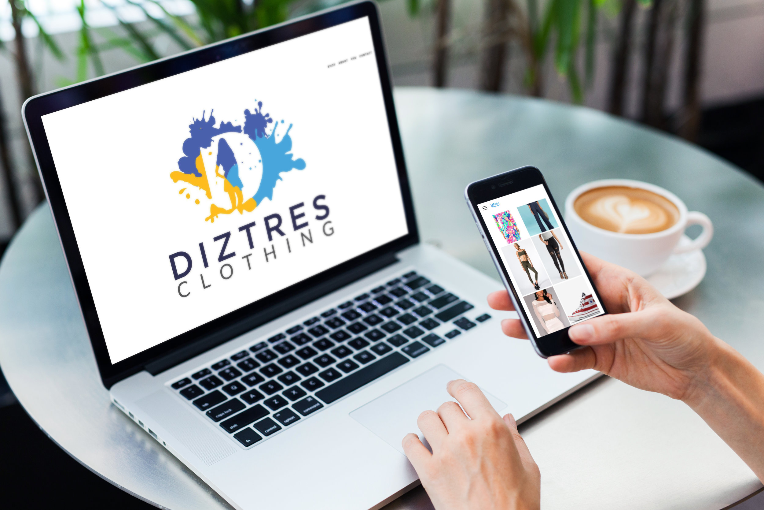 Diztres Clothing Website
