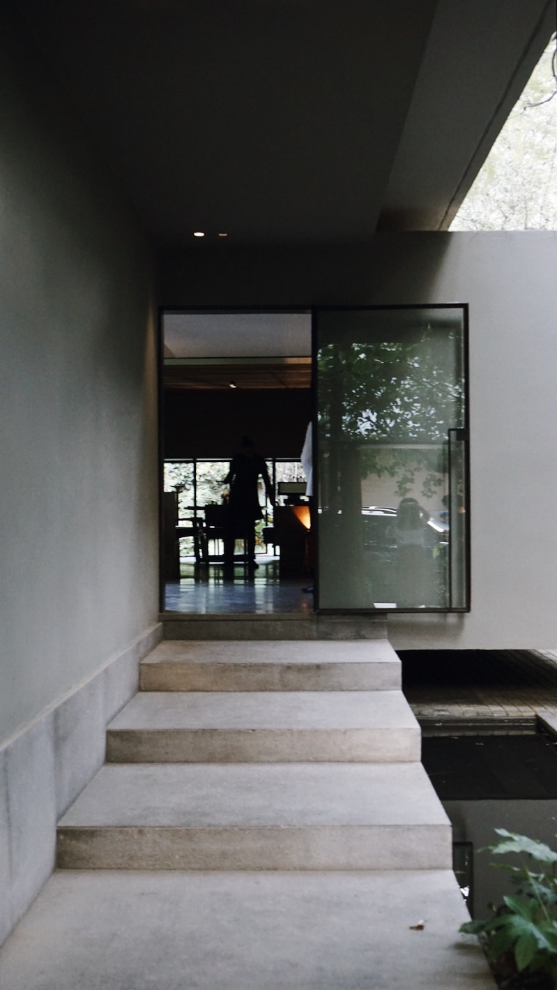 Entrance + Exit at Pujol