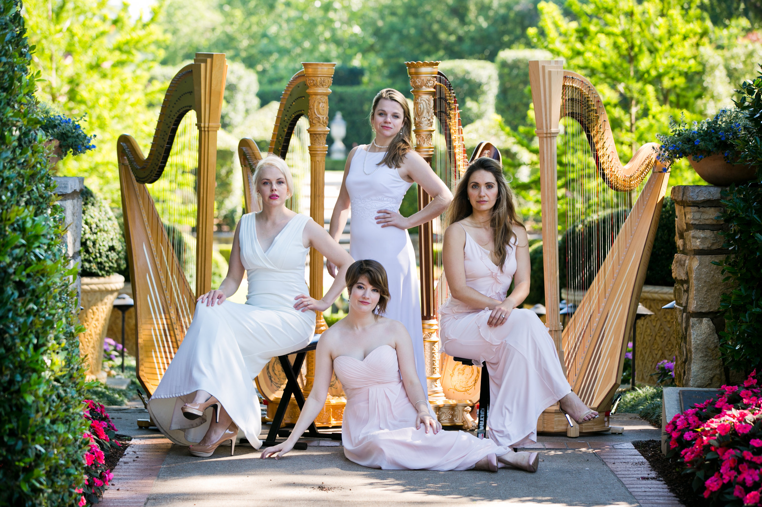 2017: The Dallas Harp Quartet
