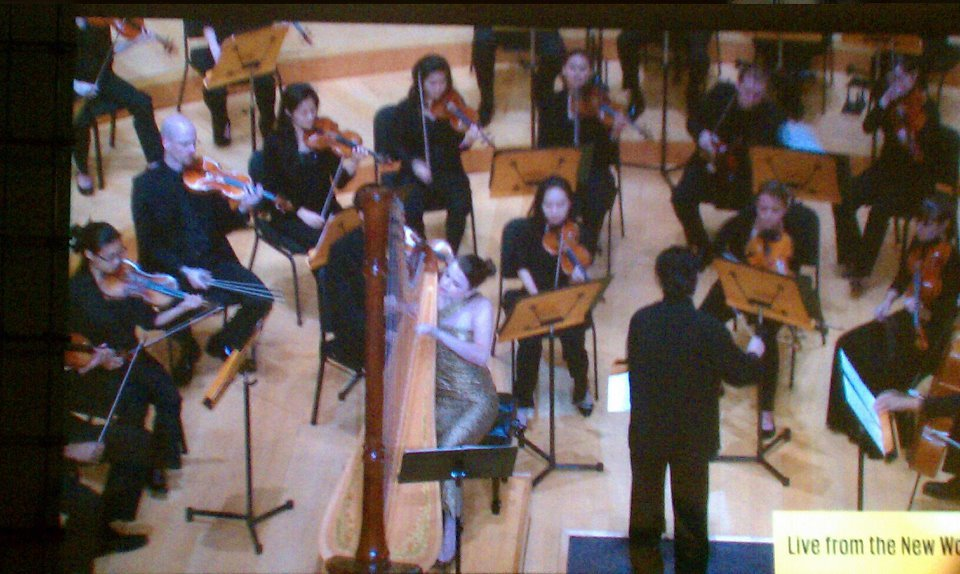 2011: Debut with the New World Symphony - Pierne's Concertstuck <3