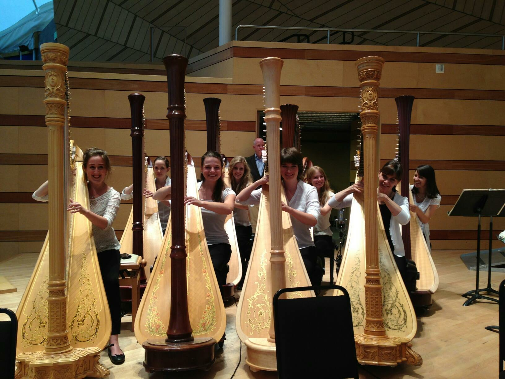 Aspen 2013: Wagner's Gotterdammerung with 8 harps!