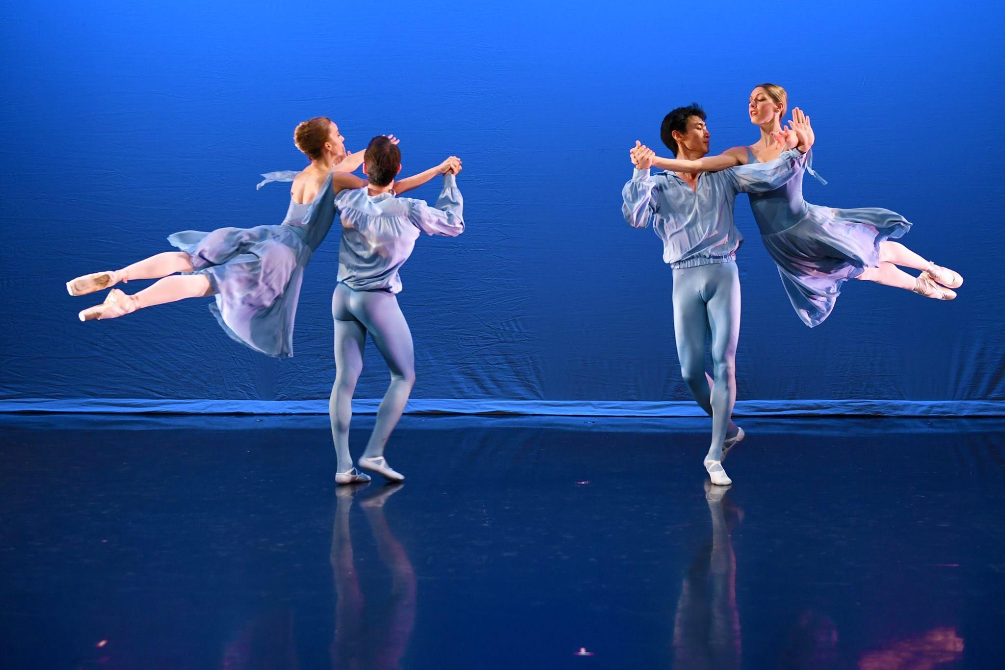 """""""Continuo"""" choreographed by Antony Tudor © The Antony Tudor Ballet Trust"""