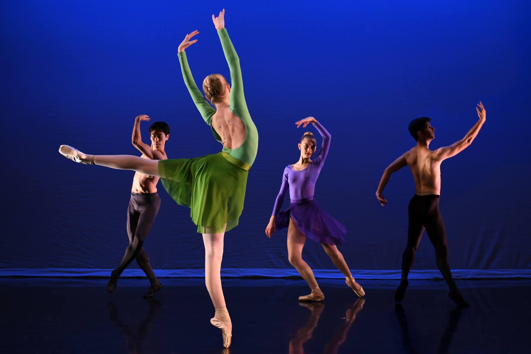 """""""Los Cuatro"""" choreographed by Antonio Carmena"""