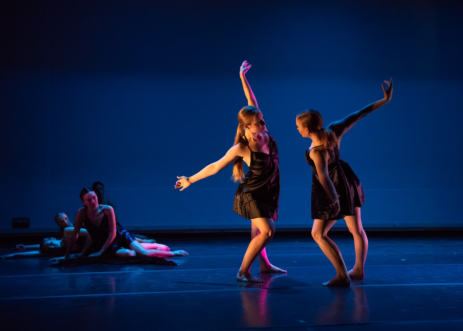 """In The Dark I Felt Her Dreams"" choreographed by Andrea Ward"