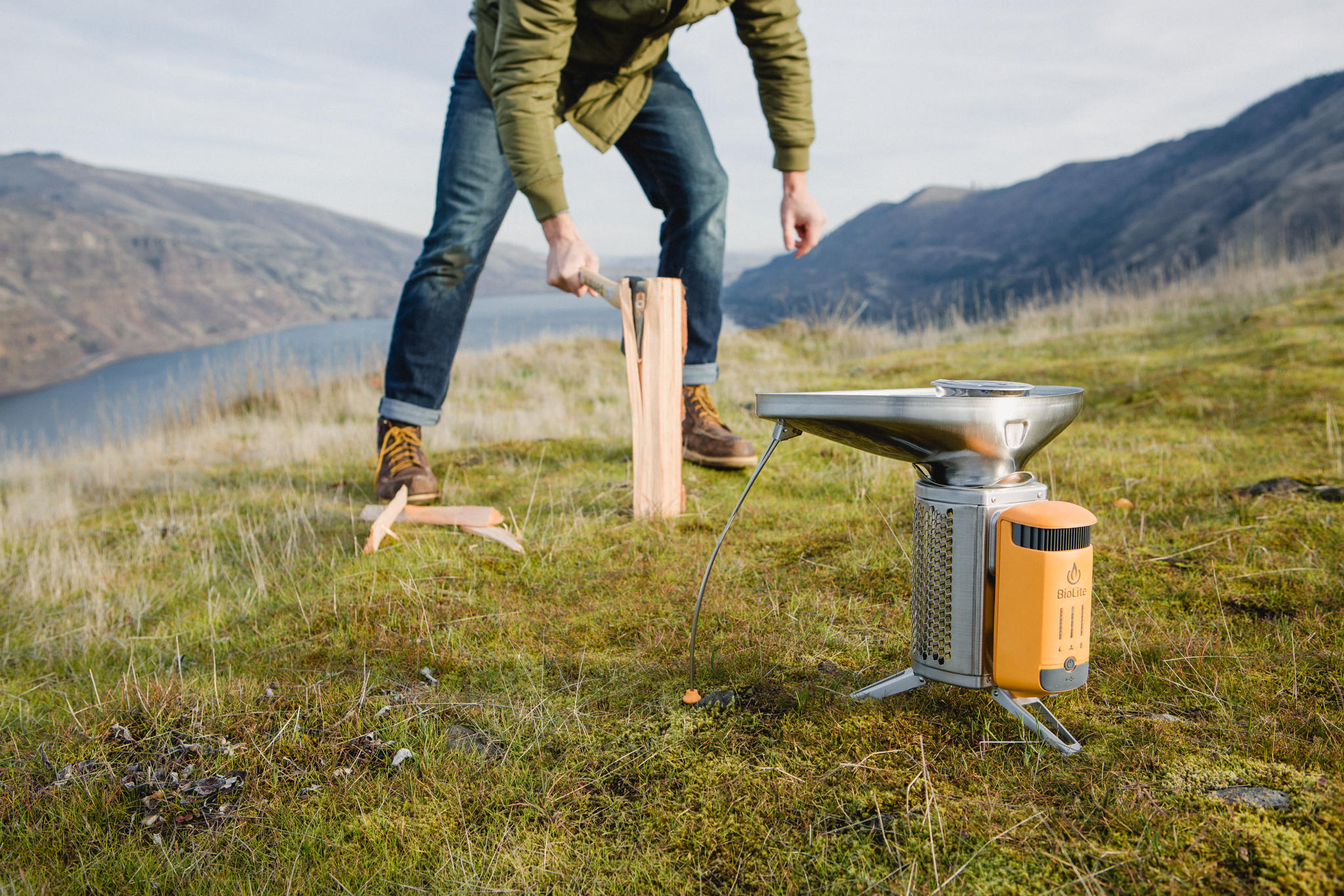 Review of the Biolite Camp Stove 2 Bundle - The Beans and Rice Commercial Outdoor Adventure & Lifestyle Content
