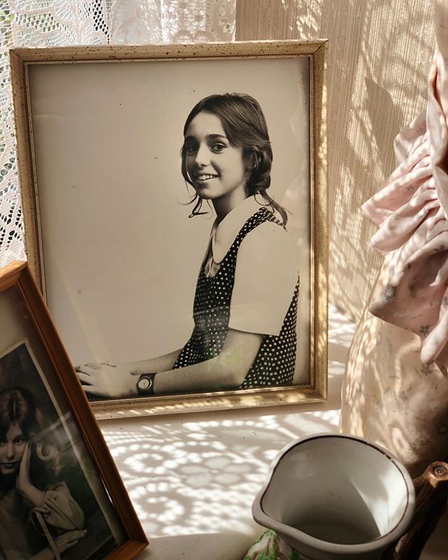 My mother at 13