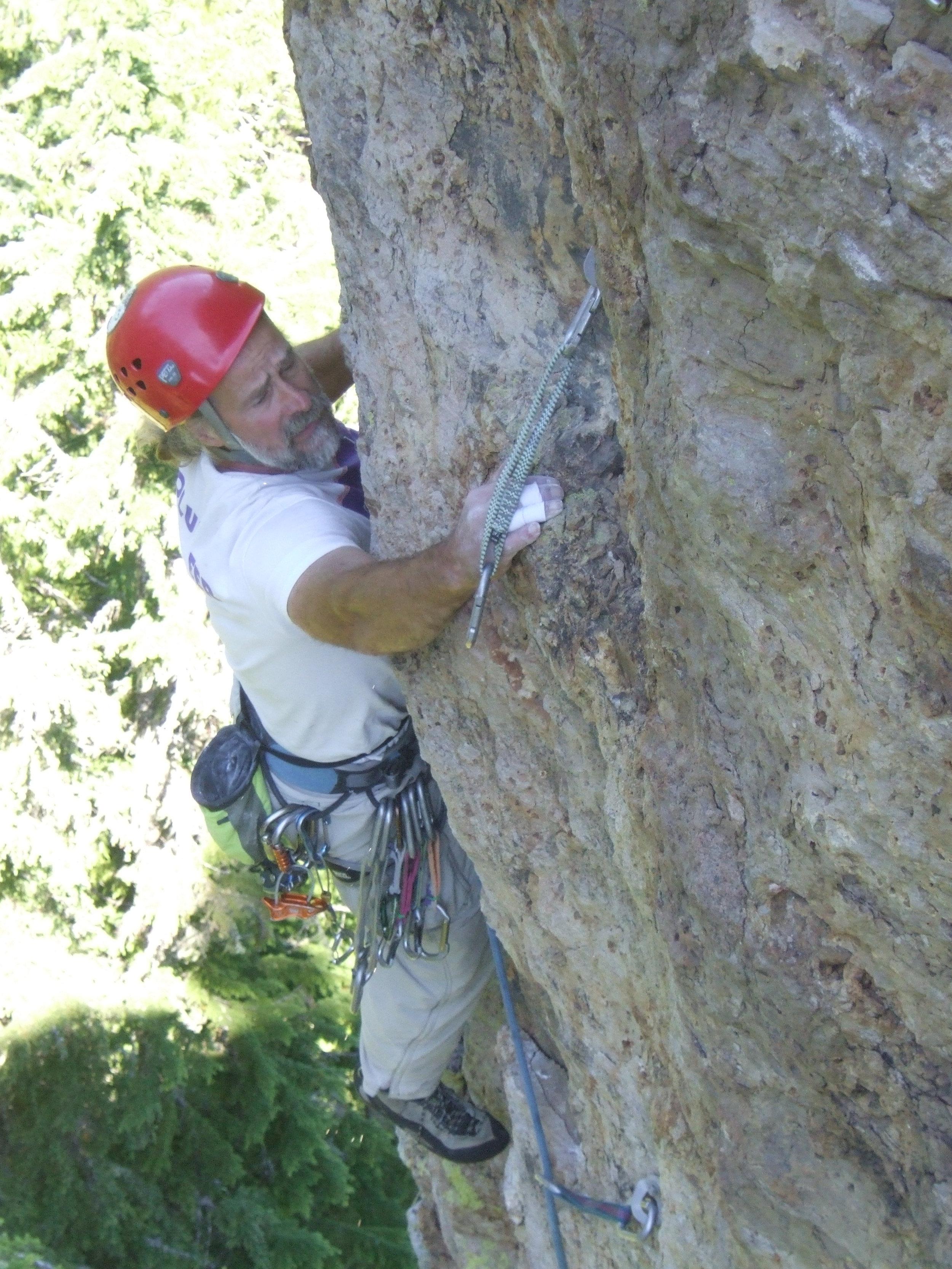Steve Elder - Chapter Chair - Climber of most disciplines...rock, ice, mountains. Mountain biker, hiker.