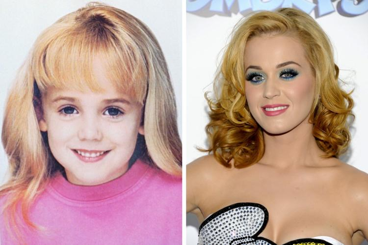Could it be? Katy Perry is really JonBenet Ramsey?