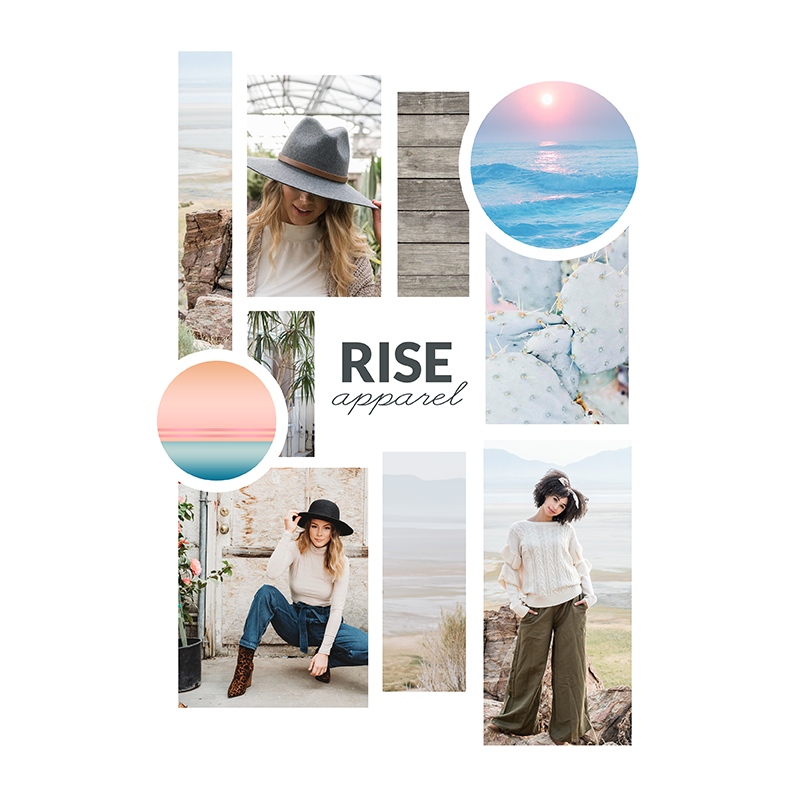 Rise Apparel - E-COMMERCE