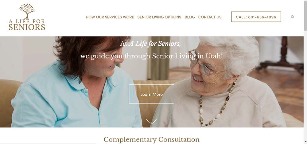 A Life For Seniors - SENIOR LIVING
