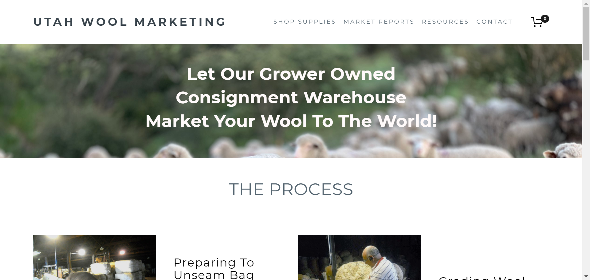 uTAH wOOL mARKETING - ECOMMERCE