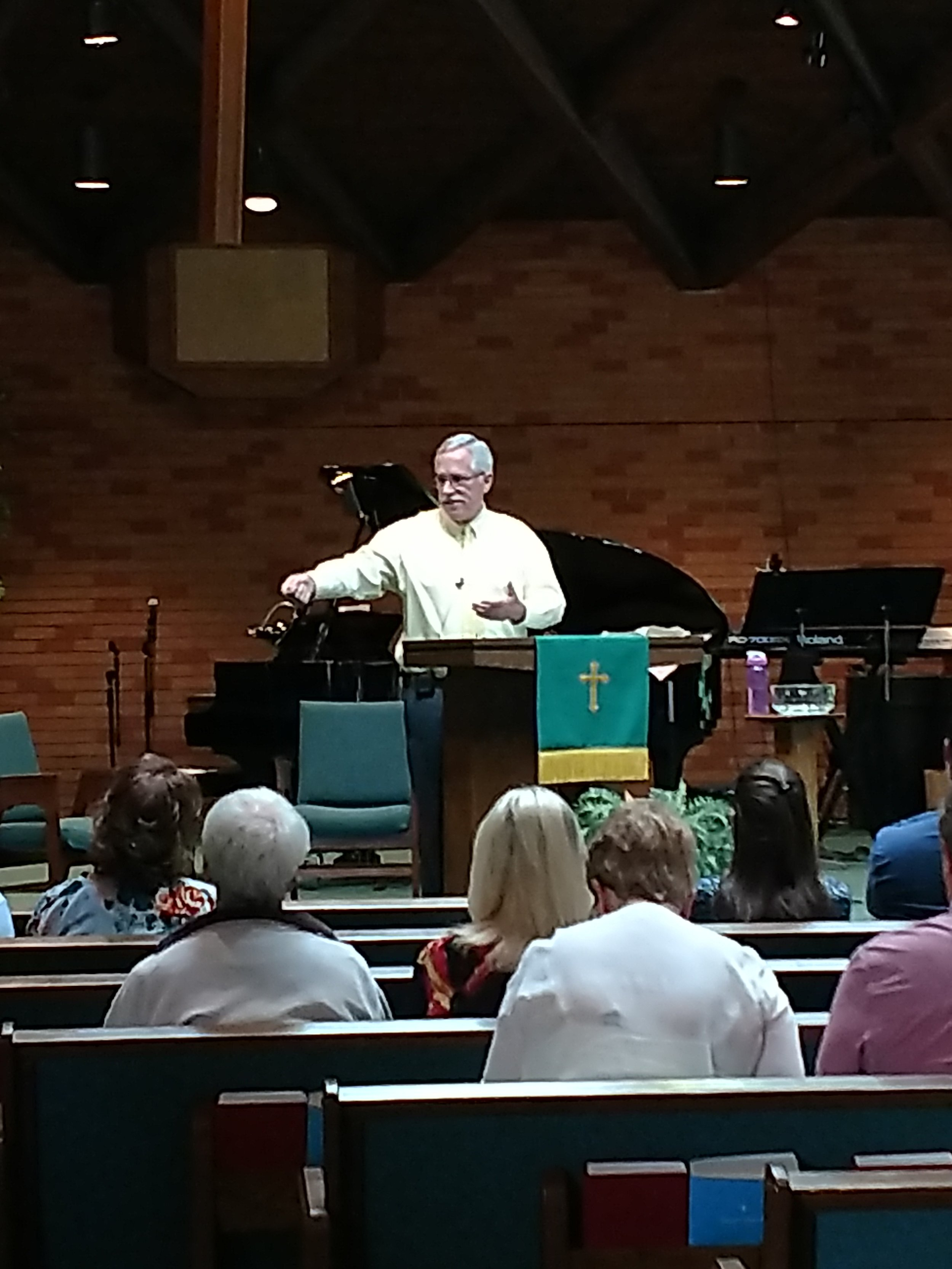 - Dr. Don preaching God's grace at Skyview Presbyterian Church in America. Skyview is located at 251 E. Sterne Blvd, Centennial, CO.