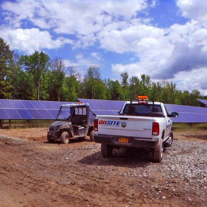 Solar City - Broome County:    5MW site    Divided project with two 2.5MW sites    16,155 modules installed    20.8-acre site