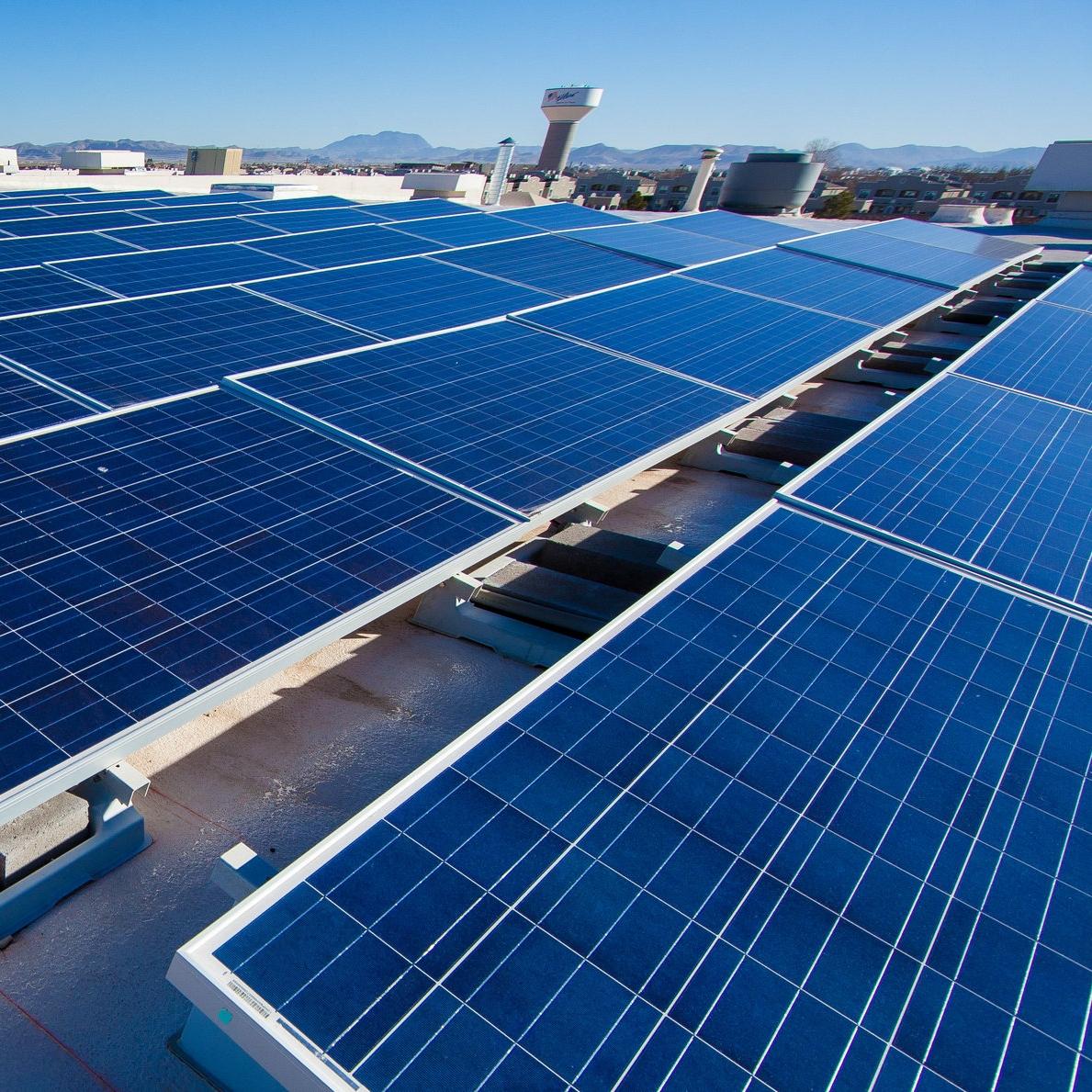 Solar City -  Oswego, NY    2.6MW site    9200 modules installed    11.5-acre site