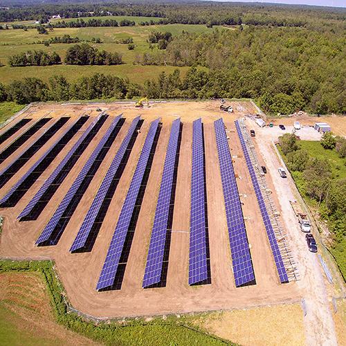 CYPRESS CREEK -  ADIRONDACK    1.68MW site    5184 modules installed    8 acre site